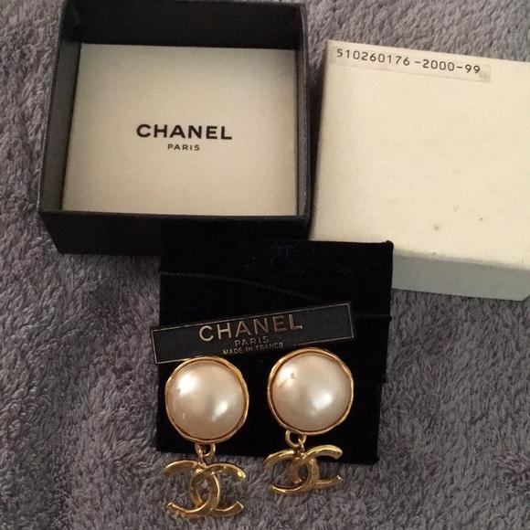 fa6b3bd28 CHANEL Jewelry | Preloved Earrings | Poshmark